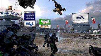 La pub dans les jeux vidéo confortée par une étude