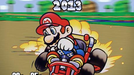 Le championnat du monde Super Mario Kart 2013