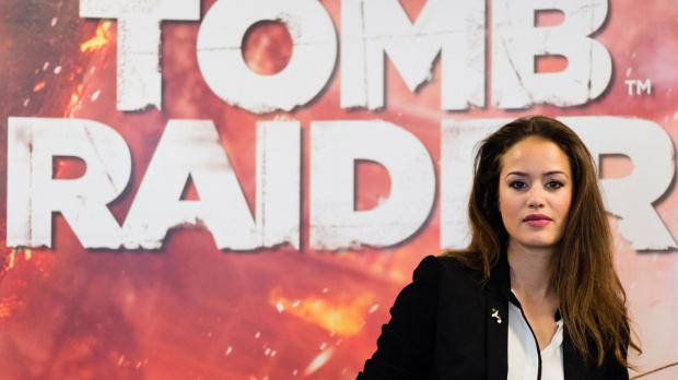 Lara Croft trouve sa voix