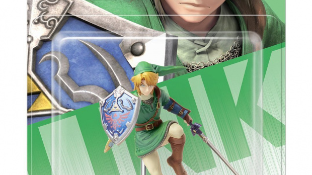 Un Amiibo compatible avec Hyrule Warriors