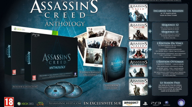 Ubisoft confirme Assassin's Creed Anthology