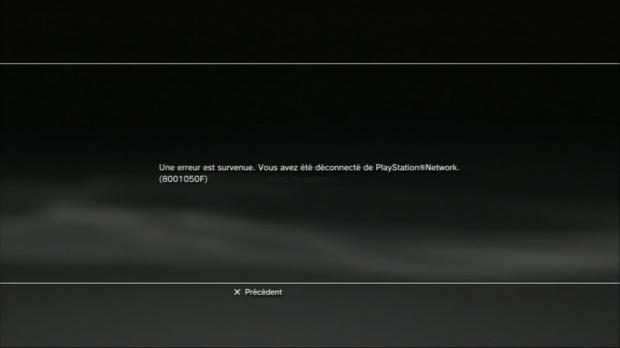 Gros bug sur certaines PS3