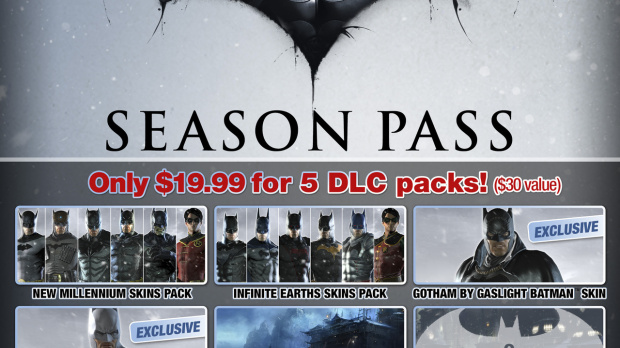 Détails sur le Season Pass de Batman Arkham Origins