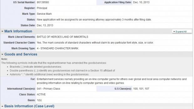 Ubisoft dépose Battle of Heroes