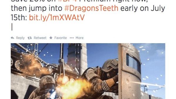 Battlefield 4 : Dragon's Teeth dès le 15 juillet ?
