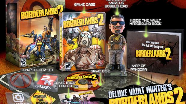 Deux éditions collector pour Borderlands 2