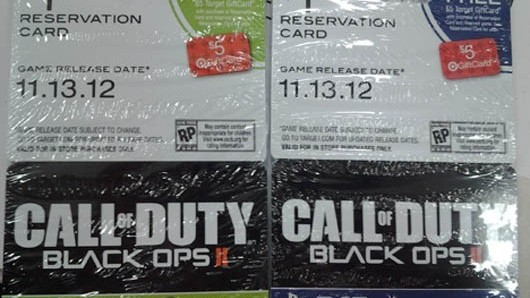 Une date de sortie pour Call of Duty Black Ops II
