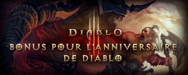 Diablo III fête son anniversaire