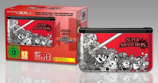 Un bundle 3DS pour Super Smash Bros.