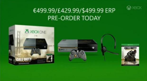 Gamescom: Un bundle CoD Advanced Warfare sur Xbox One
