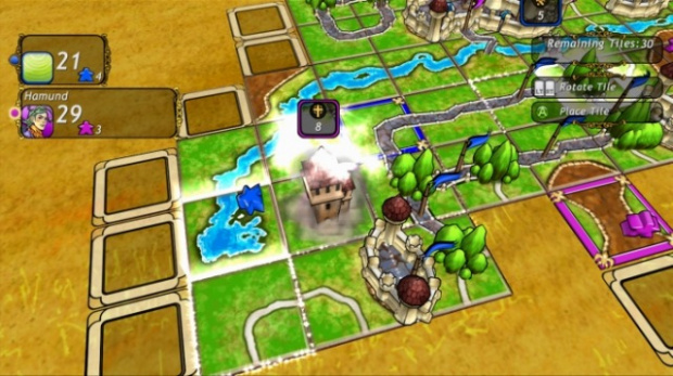 Carcassonne disponible sur Xbox Live Arcade