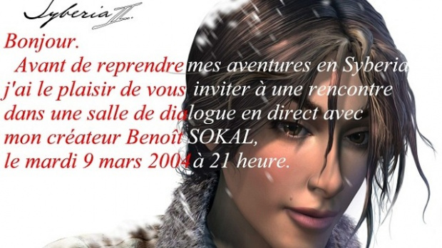 Benoît Sokal sur le chat de JeuxVideo.com