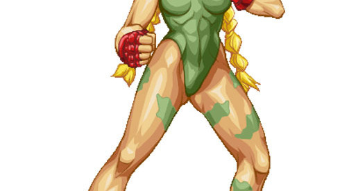Cammy dans Street Fighter IV !