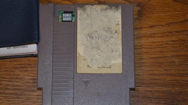 Une cartouche NES ultra rare sur ebay
