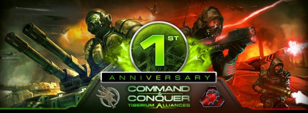 Command & Conquer Tiberium Alliances fête son anniversaire