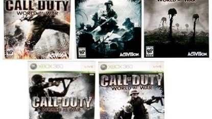 Des mini packshots pour Call of Duty 5