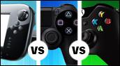 Wii U, PS4, Xbox One : laquelle est la plus puissante ?