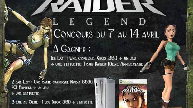 Les résultats du concours Tomb Raider Legend !