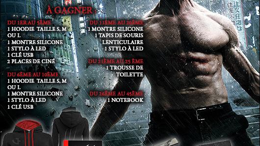Concours Wolverine : Le Combat de l'Immortel