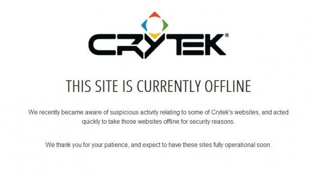 Du hack dans l'air chez Crytek