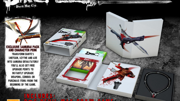 Une édition collector pour DmC Devil May Cry