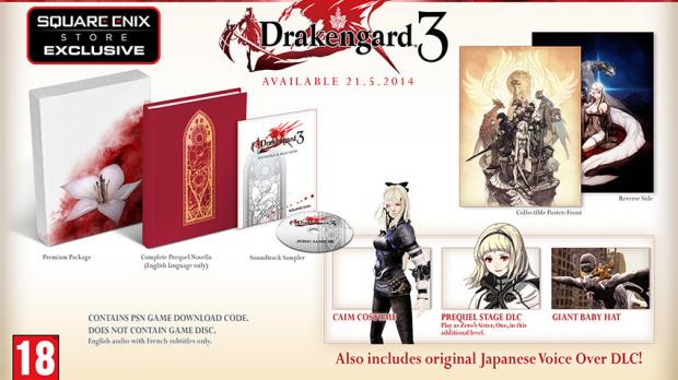 Une édition collector pour Drakengard 3 en Europe