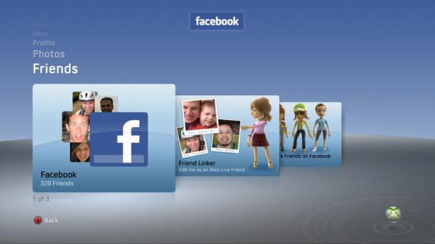 Facebook et Twitter en libre accès sur Xbox 360