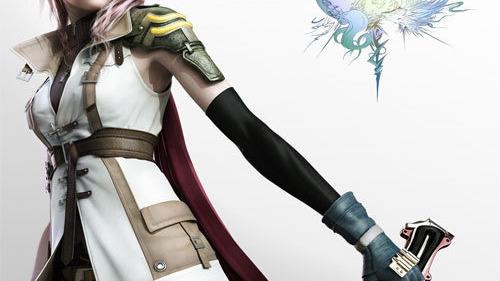 La boîte européenne de Final Fantasy XIII