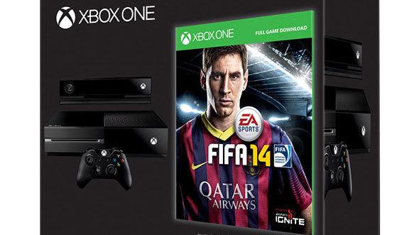 GC 2013 : FIFA 14 offert pour une Xbox One précommandée