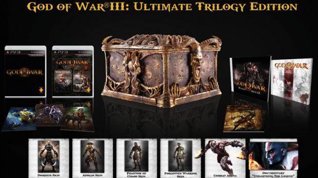Un coffret trilogie pour God of War en Europe