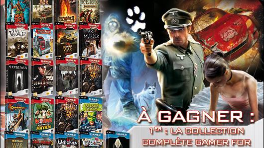 Résultats du concours  Gamer For Ever