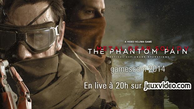 Live gamescom 2014 : Conférence MGS à 20h sur Gaming Live TV