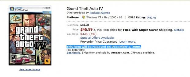 GTA IV retardé sur PC ?