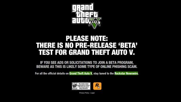 GTA V : Il n'y aura pas de bêta sur PC