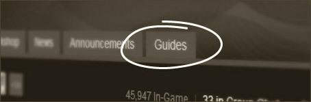 Valve présente Steam Guides