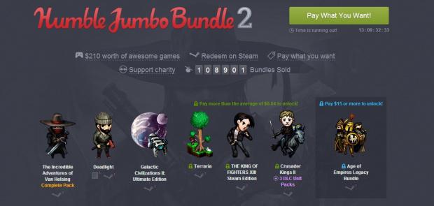 Le Humble Jumbo Bundle 2 est lancé