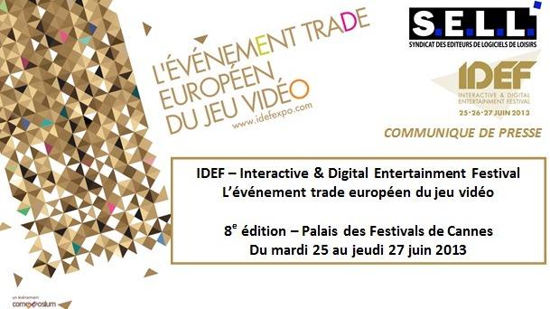 L'IDEF 2013 les 25, 26 et 27 juin prochain
