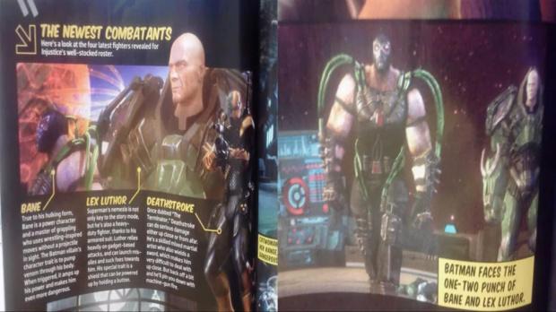 Bane et Lex Luthor dans Injustice : Les Dieux sont Parmi Nous
