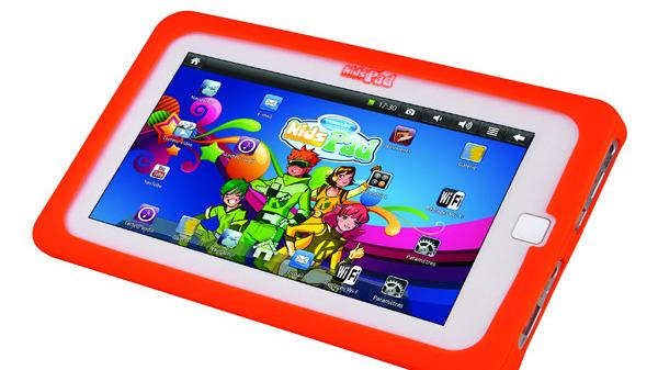 une tablette tactile sous android pour les enfants actualit s. Black Bedroom Furniture Sets. Home Design Ideas