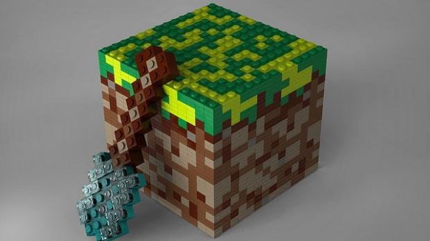 Les Lego Minecraft, vous en rêviez...