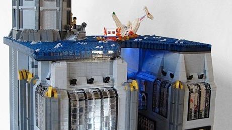 Bioshock : Rapture rebâtie en Lego