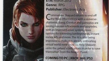 Mass Effect : la rumeur du multijoueur de retour