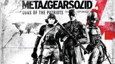 Non, il n'y a pas de MGS4 sur Xbox 360