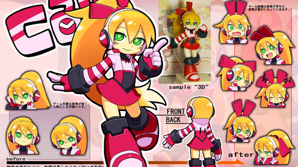 Mighty n°9 : Le design du second personnage selectionné