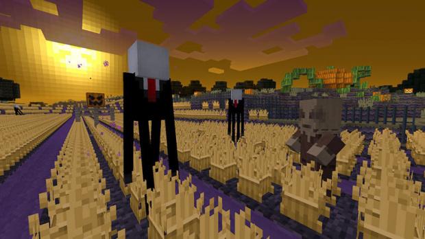 Minecraft s'habille pour Halloween
