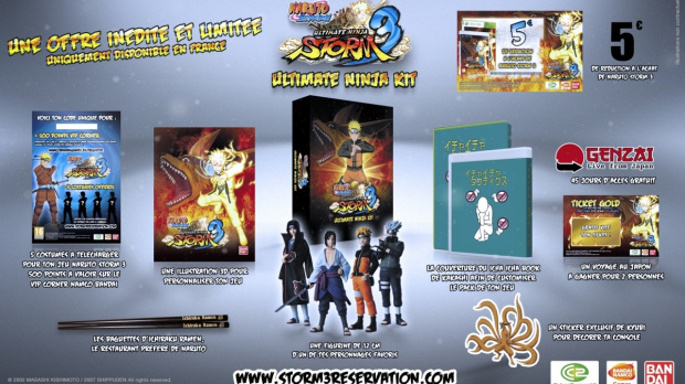 Namco Bandai annonce le Naruto Ultimate Ninja Kit