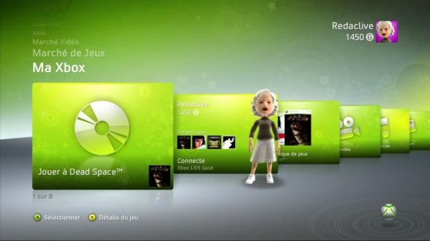 Une nouvelle interface xbox 360 cette ann e actualit s - La xbox one lit elle les jeux xbox 360 ...