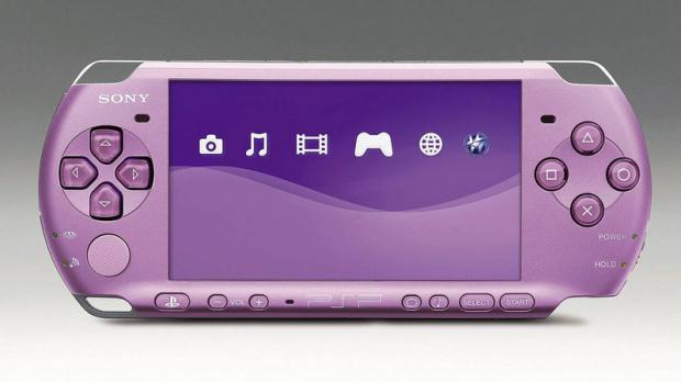 Une PSP mauve pour Hannah Montana