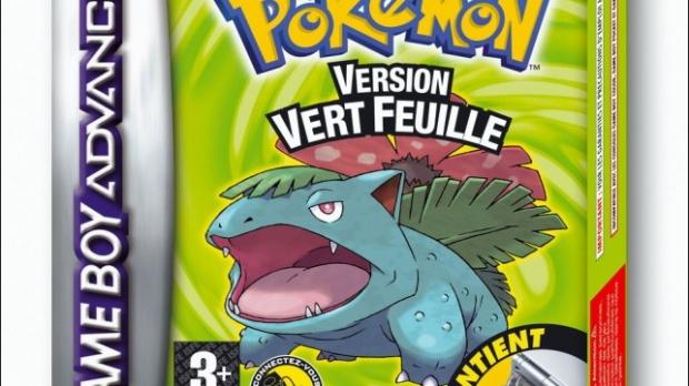 Pokémon Rouge Feu et Vert Feuille arrivent