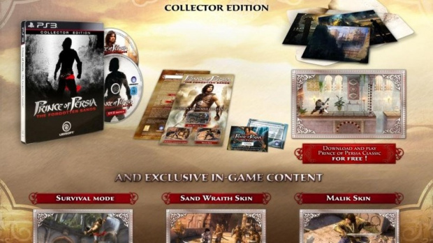 Prince of Persia : la version collector détaillée